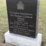 Photo de Thomas Clifford Wilson monument