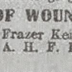 Newspaper clipping– Newspaper clipping from Daily Telegraph of April 13, 1917. Image taken from web address of http://www.telegraph.co.uk/news/ww1-archive/12214446/Daily-Telegraph-April-13-1917.html