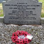 Family Marker– Family Grave Plot, Cargacreevy Presbyterian Church, Old Ballynahinch Road, Lisburn. Also buried here is James brother John who served with the 8th Battalion Canadian Expeditionary Force. John was injured then on discharge did not return to Canada but went back to the family home until his death in 1955. James mother was his next of kin as shown in his military records and is buried here as well.