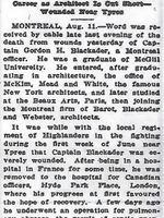 Newspaper clipping– From the Daily Colonist of August 12, 1916. Image taken from web address of http://archive.org/stream/dailycolonist58y210uvic#mode/1up.