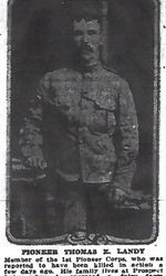 Photo of THOMAS LANDY– From the Daily Colonist of June 25, 1916. Image taken from web address of http://archive.org/stream/dailycolonist58y169uvic#page/n9/mode/1up.