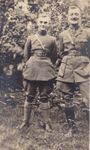 Group Photo– 2nd Lt. Owen Turnbull (left) with his cousin Maj. E. C. Goldie (right).