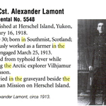 Photo of ALEXANDER LAMONT– This is a photograph of Cst Alexander Lamont