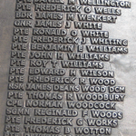 Inscription– Warrant Officer Class I JAMES DEANS WOOD is one of 23 soldiers commemorated on this panel and is one of the 516 members of the Canadian Forces whose names appear on the Korean War Monument in Ottawa.  It was erected IN LOVING MEMORY OF THE CANADIAN WHO DIED IN SERVICE DURING THE KOREAN WAR 1950-1953 AND ON KOREAN PEACE KEEPING DUTIES, 1953-1957.  Warrant Officer WOOD died on January 18, 1951 and is buried in the UNITED NATIONS CEMETERY (BUSAN), South Korea. Staff Sergeant WILLIAM ALLAN  RATHBUN also died on this day.