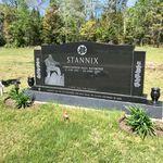 Pierre tombale – Pierre tombale du Cplc Christopher Paul STANNIX au cimetière de McAdam (Rockland), McAdam NB, Canada. (Crédit photo : Capitaine (retraité) E.L.L. Gaudet, CD)