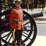 Constable Allen Gary Giesbrecht– Cst. Al Giesbrecht nearing the completion of training at Depot Division in the summer of 1973.