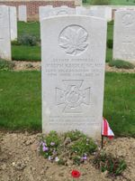 Grave marker– 25 April 2015, CEFRG (Canadian Expeditionary Force Research Group) cefrg.ca
