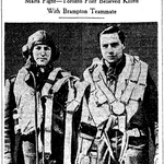 Newspaper clipping– From the Toronto Star January 1943. Submitted for the project Operation Picture Me